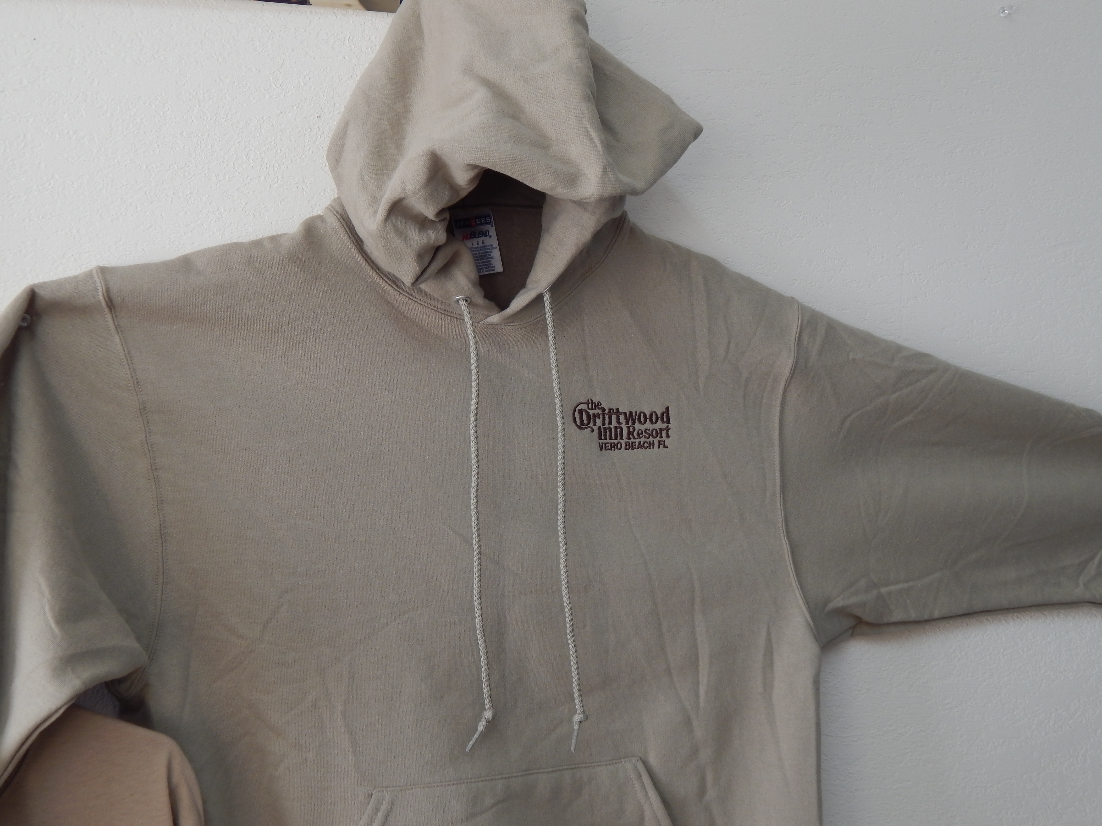 e2107d2d98c4c Driftwood Embroidered Hoodie - Treasure Coast Embroidery
