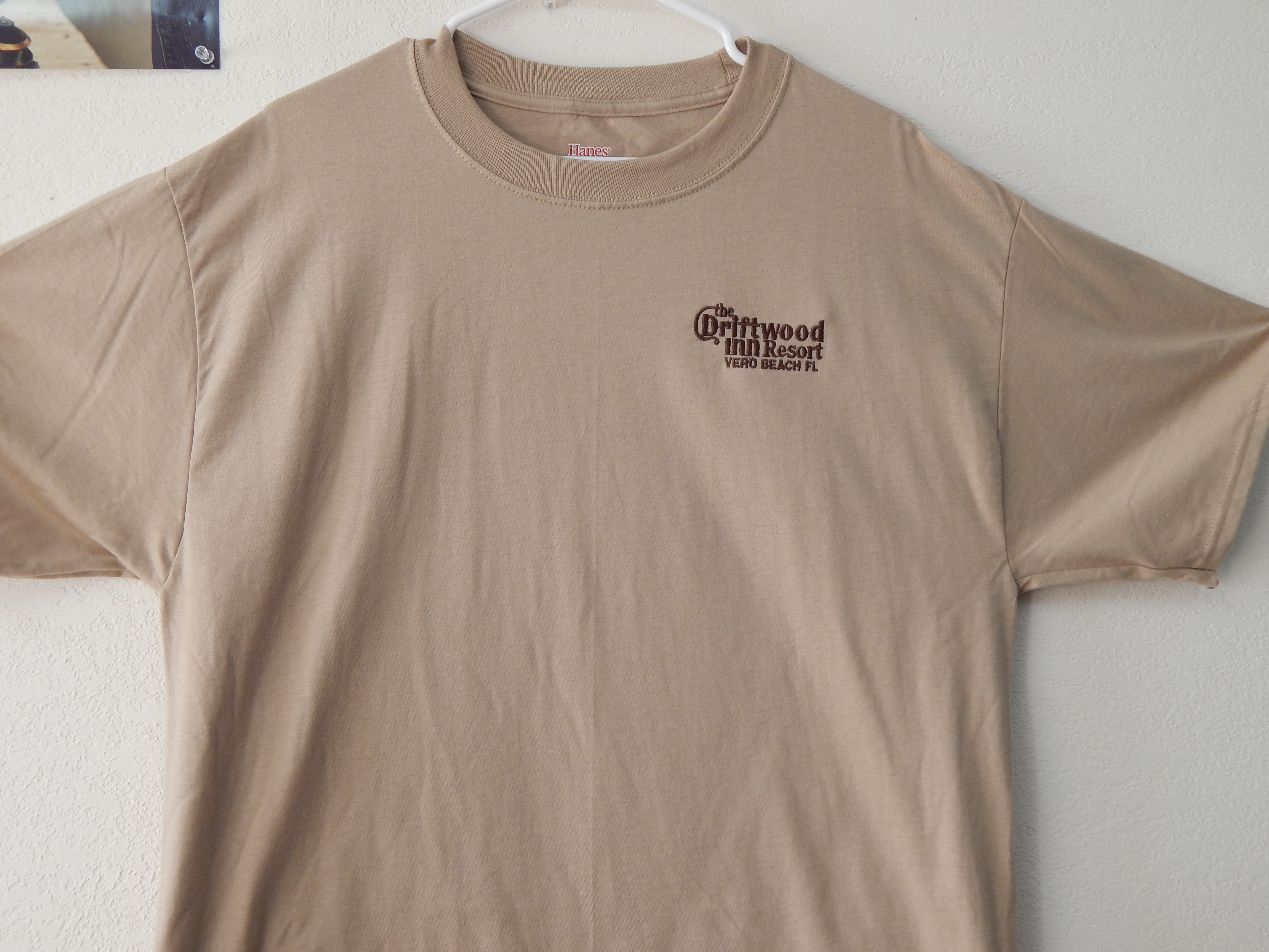 c5a92e114f932 Driftwood Embroidered T-Shirt - Treasure Coast Embroidery
